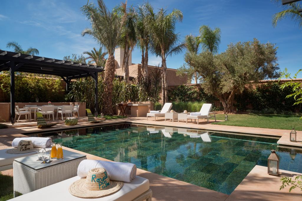 Riad marrakech fairmont royal palm marrakech for Construction piscine marrakech