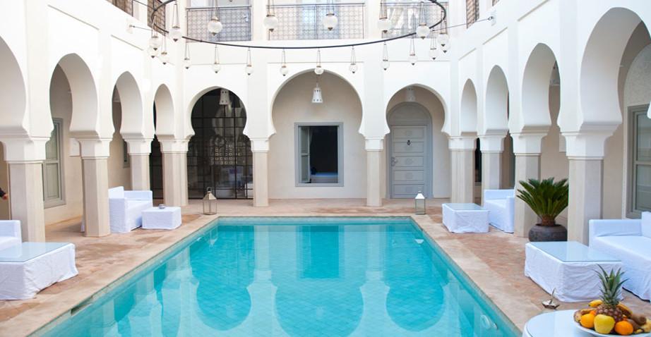 Riad avec piscine
